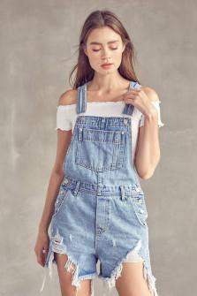 Γυναικεία τζιν ολόσωμη φόρμα 20505