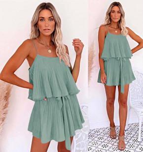Дамска рокля солей 5199 мента