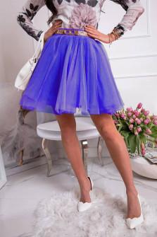 Γυναικεία κλος φούστα 3575 μπλε