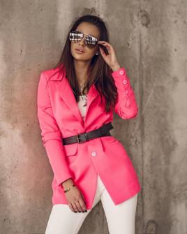 Γυναικείο κομψό σακάκι 8061 φούξια