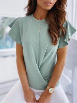 Γυναικεία εντυπωσιακή μπλούζα 2200μ μέντα