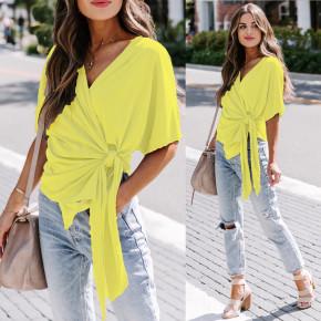 Γυναικεία μπλούζα 2312 κίτρινη