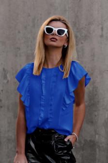 Γυναικεία μπλούζα 5009 μπλε ρουά
