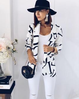 Γυναικείο σακάκι 3599 λευκό