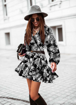 Γυναικείο φόρεμα με print 534703