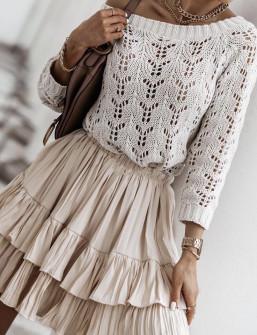 Γυναικεία φούστα 4301 μπεζ