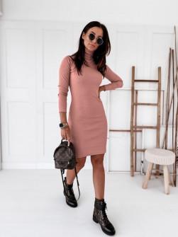 Γυναικείο εφαρμοστό φόρεμα 2600 ροζ