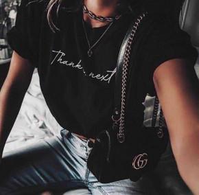 Γυναικείο κοντομάνικο 3073 μαύρο