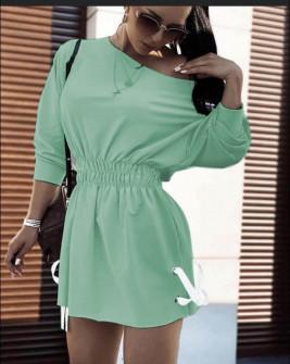 Γυναικείο αθλητικό φόρεμα 19743 μέντα