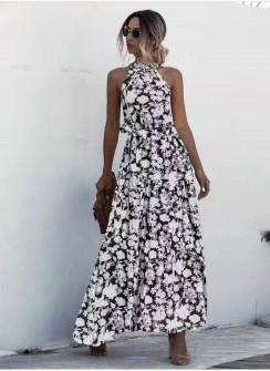 Γυναικείο μακρύ φόρεμα 625703