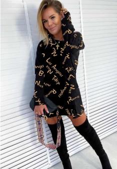 Γυναικείο μπλουζοφόρεμα 1977904