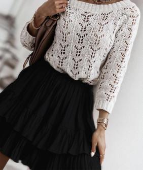 Γυναικεία φούστα 4301 μαύρη