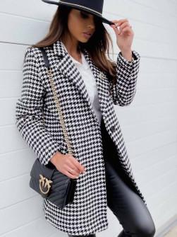 Γυναικείο παλτό πτι-καρό 2013