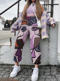 Παντελόνι με print 258303
