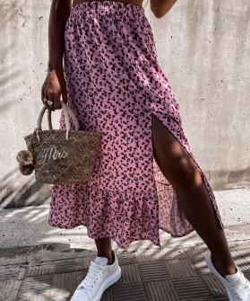 Γυναικεία φούστα με σκίσιμο 2130201