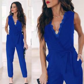 Γυναικεία ολόσωμη φόρμα 3673 μπλε
