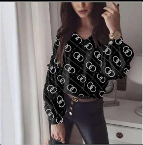 Γυναικεία μπλούζα 395708 μαύρη