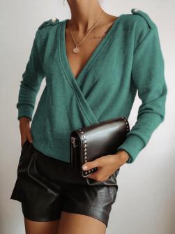 Γυναικεία μπλούζα 71548 πράσινη