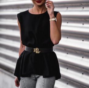 Γυναικείο μπλουζοφόρεμα 2309 μαύρο