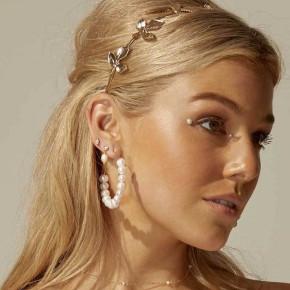 Γυναικεία σκουλαρίκια με πέρλες SP190