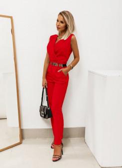 Γυναικεία ολόσωμη φόρμα 2520 κόκκινη