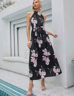 Γυναικείο μακρύ φόρεμα 625714