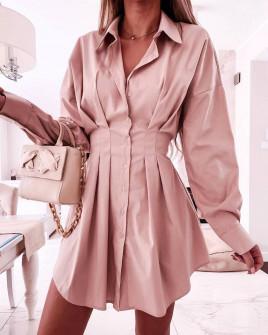 Γυναικείο πουκάμισο 6900 ροζ