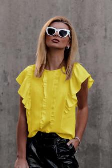 Γυναικεία μπλούζα 5009 κίτρινη