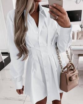 Γυναικείο πουκάμισο 6900 άσπρο