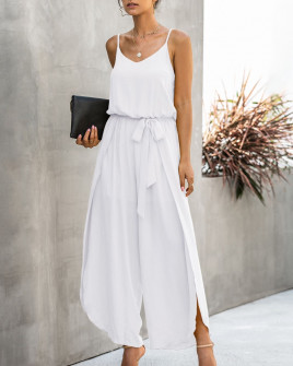 Γυναικεία ολόσωμη φόρμα 5112 άσπρη