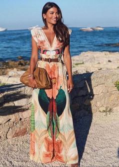 Γυναικεία ολόσωμη φόρμα με εντυπωσιακό print 55771