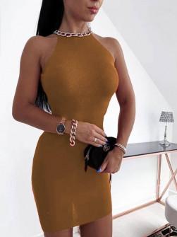 Εντυπωσιακό φόρεμα 2675 μαύρο