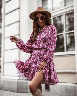 Γυναικείο φόρεμα με print 534702