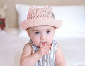 Βρεφικό καπέλο BF46 ροζ