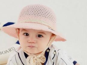 Βρεφικό καπέλο BF45 ροζ