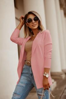 Γυναικείο σακάκι 5018 ροζ