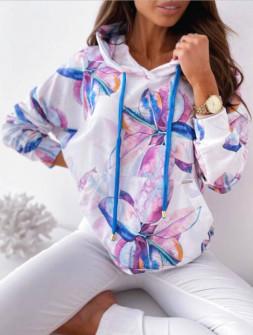 Γυναικεία μπλούζα με κουκούλα 4873
