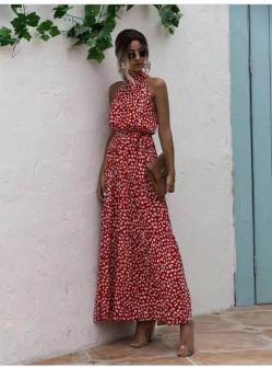 Γυναικείο μακρύ φόρεμα 625705