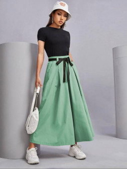 Γυναικείο παντελόνι 18128 πράσινο