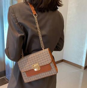 Γυναικεία τσάντα B282 καμηλό
