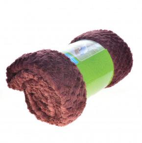Χνουδωτή κουβέρτα PO048682 μπορντό
