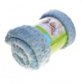 Χνουδωτή κουβέρτα PO048682 μπλε