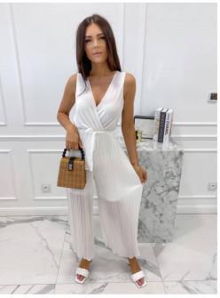 Γυναικεία ολόσωμη φόρμα 18600 άσπρη