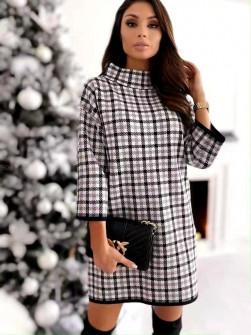 Χαλαρό φόρεμα με print 272102