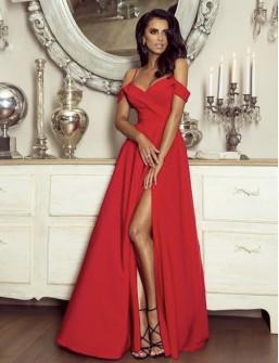 Γυναικείο φόρεμα 8049 κόκκινο