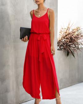 Γυναικεία ολόσωμη φόρμα 5112 κόκκινη