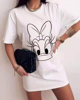 Γυναικείο μπλουζοφόρεμα 551301