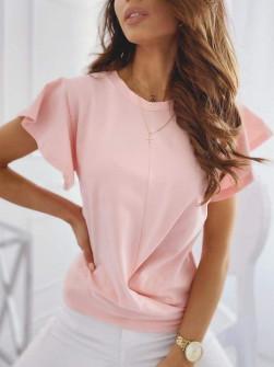 Γυναικεία εντυπωσιακή μπλούζα 2200 ροζ