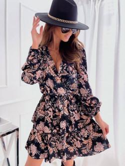 Γυναικείο φόρεμα με print 4745