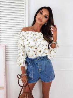 Γυναικεία μπλούζα με εντυπωσιακό ντεσέν 5812202